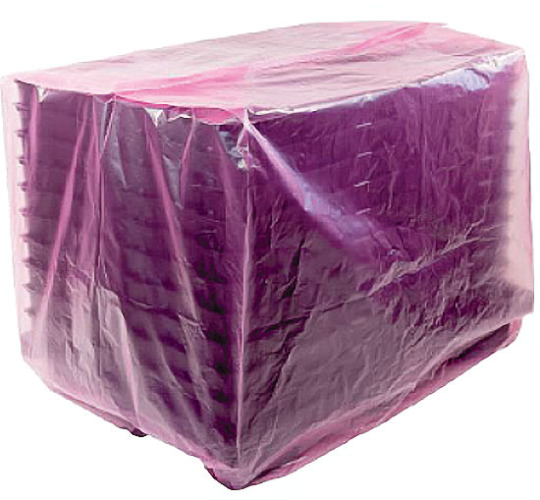 Pink protective cover - antistatic