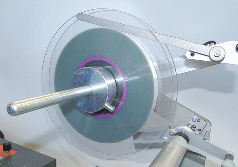 Taping machine BE-01: Checking for presence of cover tape
