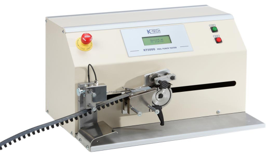 KT 5000 peel force tester for carrier tapes